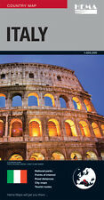 Italy map latest ed  new Hema  9781875992966