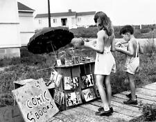 Photo. 1940s. Tennessee.  Roadside Comic Book Stand