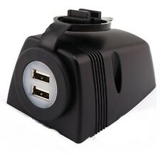 12V Surface Mount Dual USB Accessorio socket di alimentazione 5V 2.1 A output