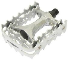 ONZA VP438 Alloy Trials Bike Pedals MTB Bicycle Cycle BMX Double Cage 9/16""