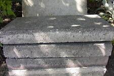 10 Stück Alte gebrauchte Betonplatten   Gartenplatten  40x20x5