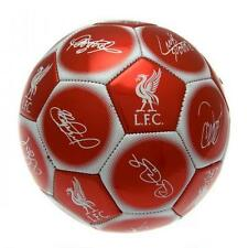 Liverpool FC Official Club Team Signature Football - Size 5