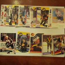 Vancouver Canucks Lot of 25 cards-70's/80's Cards, Canucks Heros, Rookie Cards