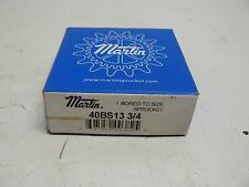NEW MARTIN 40BS13 3/4 SPROCKET 13 TOOTH