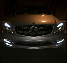 4x T10 5SMD LED SIDELIGHTS CANBUS FREE ERROR WHITE MERCEDES C CLASS W204 07-11