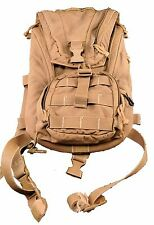 Good 3L 100oz Hydration System Carrier Backpack USMC FILBE Coyote