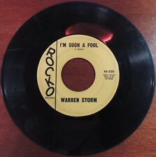 Ultra Rare Swamp Pop Louisiana Warren Storm Rocko 520 45rpm 1960 Rockabilly NR