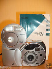 CANON IXUS Z90 QUARTZ DATE APS FILM CAMERA~22.5-90MM MACRO LENS~PANORAMA (10S12)