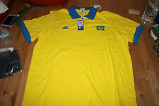 T-Shirt POLO -  MAILLOT FOOT ADIDAS / FIFA WORLD CUP * BRASIL * Taille XL  Neuf