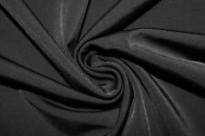 Black #24 4 Way Stretch Nylon Lycra Spandex Swimwear Active Fabric BTY