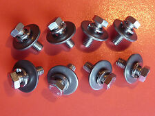 * Stainless * Bonnet Hinge Bolts for Holden Torana LC LJ  XU1 coupe 4 door