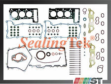 98-00 Chrysler 2.7L Engine Full Gasket Set + Head Bolts Kit 167cid V6 DOHC motor
