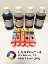 KIT INCHIOSTRI+CARTUCCE STAMPANTE ALIMENTARE CANON CIALDE PASTICCERIA MG5350