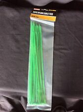 300mm Green Cable Ties - Pack of 25 - DIY, Garden, plant ties, Free Post!