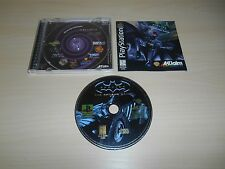 Batman Forever The Arcade Game Complete PS1 Playstation 1 Game CIB Black Label