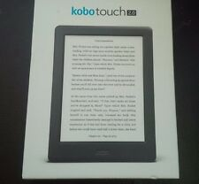 "Kobo TOUCH 2.0 E-READER 6"" TOUCHSCREEN LCD, WiFi . OPEN BOX NEW . SLIM BLACK"