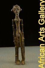 52098 Bronze.Jägerfigur der Dogon,Mali, Afrika