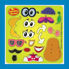 15 Make Your Own Mr. Potato Head Stickers Party Favors