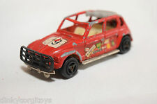 MAJORETTE 231 CITROEN DYANE RALLY RED GOOD CONDITION