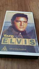 YOUNG ELVIS PRESLEY -  1989 VHS VIDEO COLOUR & B&W