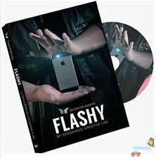 Flashy (DVD and Gimmick) by SansMinds Creative Lab,2016 New,Magic Trick,Street