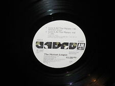 """Human League """"Love is all That Matters"""" 12"""" 45 Single PROMO"""
