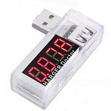 USB Charger Doctor Mobile Battery Tester Power Detector Voltage Current Meter GA