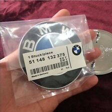 NEW OEM BMW Car Emblem Chrome Front Badge Logo 82mm 2 Pins For BMW Hood/Trunk