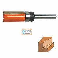 """1/2"""" & 1/4"""" inch Imperial Template Cutter Router Bit Bits TCT Twin Fluted Jig"""