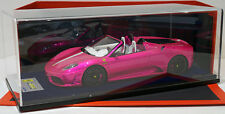 Looksmart 1/18 Ferrari F430 430 16M Scuderia Spyder Flash Pink MR