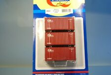 "Athearn 28820 3 x 20' Standard Container ""C&CL Yang Ming"" *ORIGINAL / herpa*"