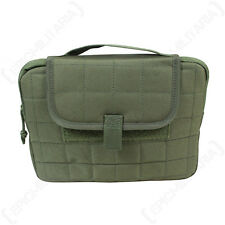 TACTICAL TABLET CASE - OLIVE - Molle Military Army Cadet Outdoors Carrier Padded