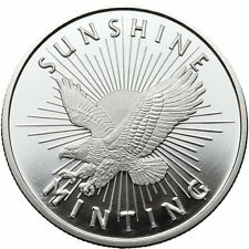 1/2 oz Sunshine Silver Round (New)