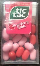TIC TAC STRAWBERRY FIELDS MINT CANDY 13gm ( PACK OF 6 )