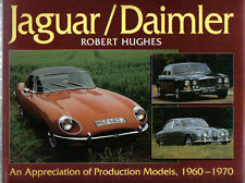 JAGUAR Daimler Modèles de production 1960-70 XK150 e & S TYPE XJ6 SP250 DS420 +