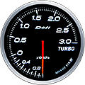 DEFI LINK METER ADVANCE BF TURBO BOOST GAUGE -3 BAR 60MM DF14701 WHITE