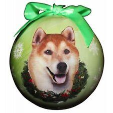 Shiba Inu Shatterproof Ball Dog Christmas Ornament