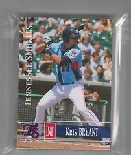 2014 TENNESSEE SMOKIES SET EACH SET AA CHICAGO CUBS Kris Bryant + Soler No Auto