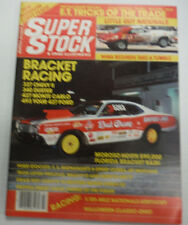 Super Stock Magazine 327 Chevy II 340 Duster March 1984 072415R