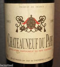 grand vin - chateau neuf du pape 1993 - jean de cherriere