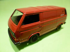 SCHABAK 1041 VW VOLKSWAGEN CARAVELLE T3 SYNCRO - PTT POST RED 1:43 - EXCELLENT