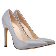 LADIES WOMENS MID HIGH HEEL WEDDING BRIDAL PARTY STILETTO COURT SHOES SIZE 2-9