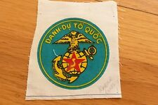 ARVN SOUTH VIETNAM VNMC US ADVISORS MARINES POCKET ROUNDEL PATCH MINT ORIGINAL