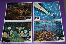 HEAVY METAL LOBBY CARD SET (8) ORIGINAL