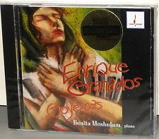 CHESKY CD 125: Granados - Goyescas - Meshulam, piano - USA 1995 Factory SEALED