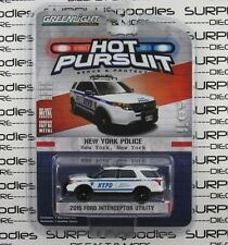 GREENLIGHT 1:64 S19 Hot Pursuit NYPD 2015 FORD EXPLORER Interceptor Utility SUV