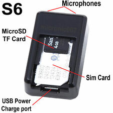 3in1 MINIATURE GSM SPY BUG RECORDER TRACKER LISTENING RECORDING TRACKING DEVICE