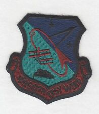 """USAF Air Force Patch:  4950th Test Wing - 3"""" subdued, light green"""