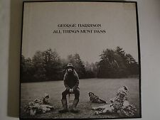 GEORGE HARRISON ALL THINGS MUST PASS 3X LPS CAPITOL RECORDS PURPLE LABEL VG++
