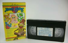 Vintage Muppet Babies Video Storybook VHS-7 stories-55 mins.- hosted by Kermit!